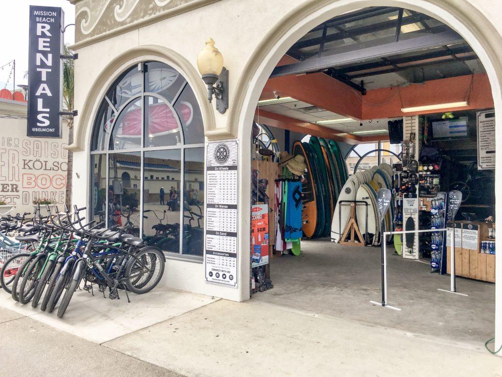 San Diego Bike & Surf Rentals