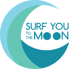 Surf You To The Moon -Logo